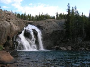 White Cascade near Glen Aulin