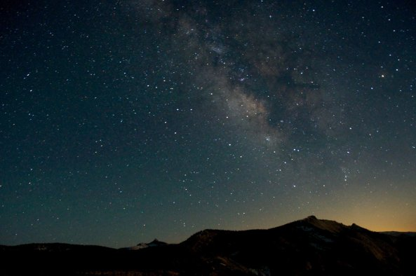 Milky Way Over Clouds Rest