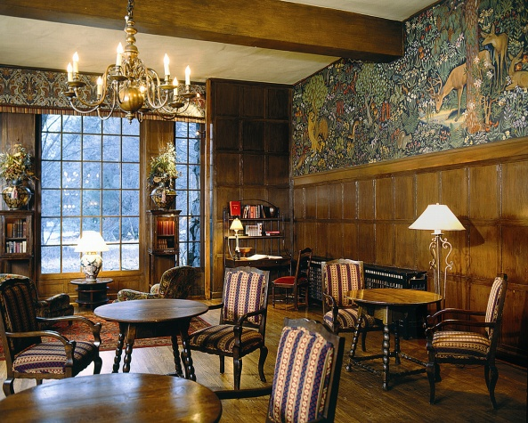 Favorite yosemite spots the mural room at the ahwahnee for Design hotel yosemite