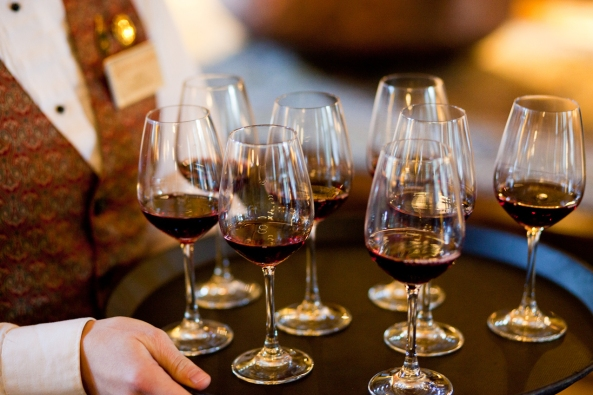 Wine tasting at Vintners' Holidays. Photo by Chris Andre.