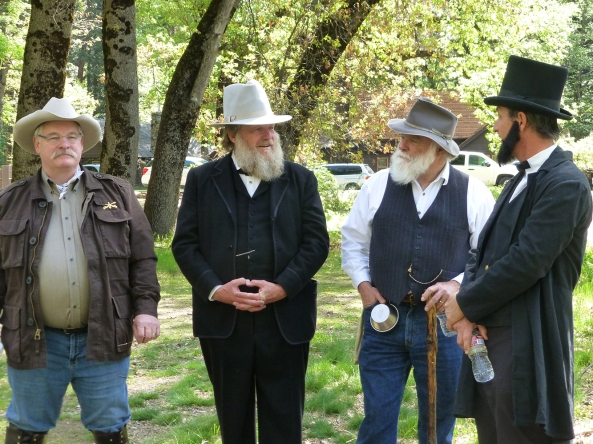 President Roosevelt, John Muir, Galen Clark and President Lincoln on hand for Law Day Yosemite 2014