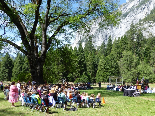 Students gather for Law Day Yosemite 2014