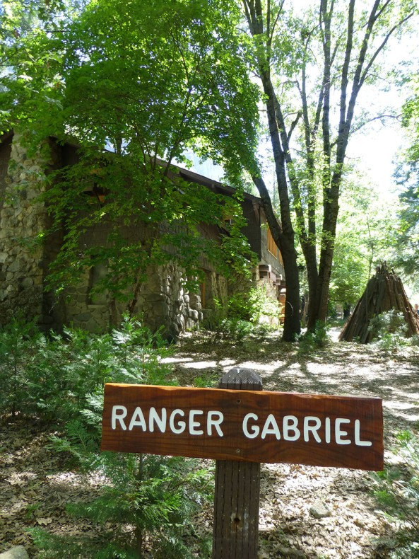 Ranger Gabriel's parking spot in Yosemite Valley. Photo by Michelle Hansen.