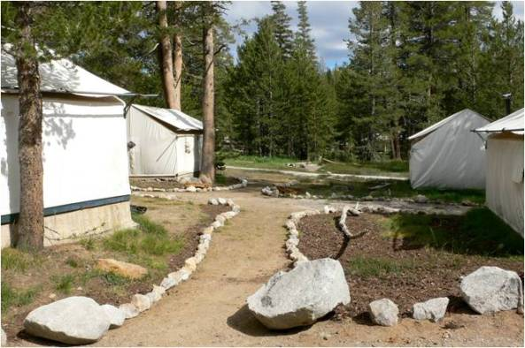 Restoring Tuolumne Meadows Lodge in 2008.
