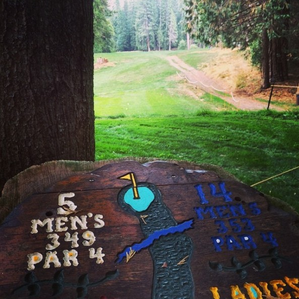 Hole #5 on the Wawona golf course