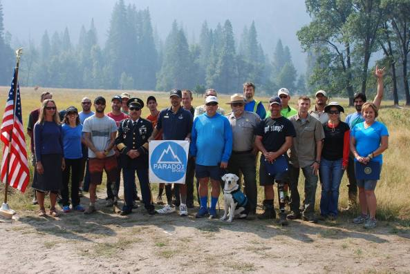 Paradox Sports veterans and volunteers met with National Park Service Rangers prior to their ascents.