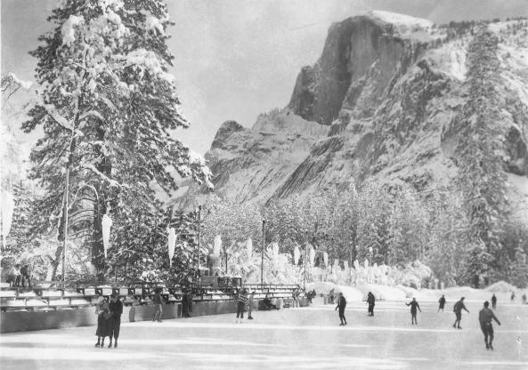 historic ice rink 1933