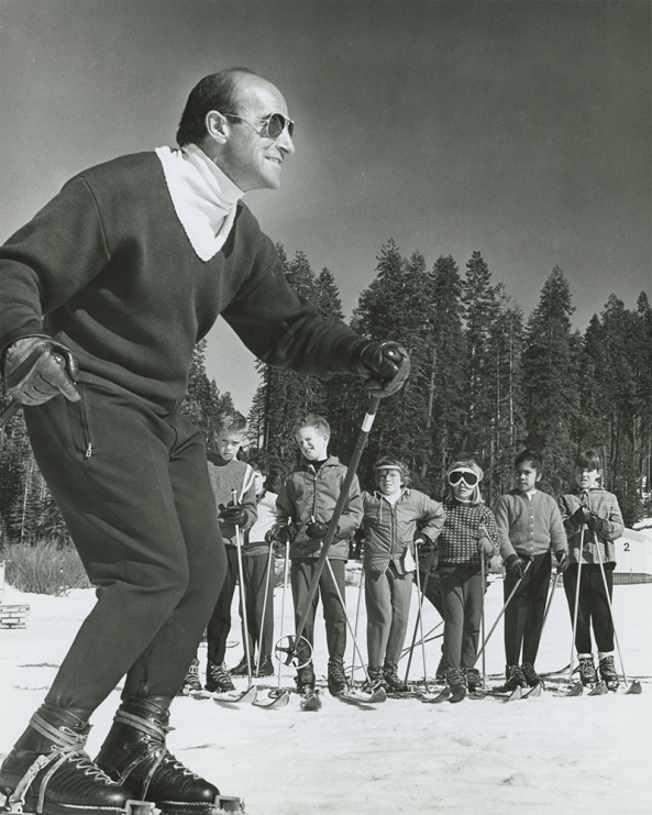 Nic Fiore was director of the Yosemite Ski School from 1956 to 2001