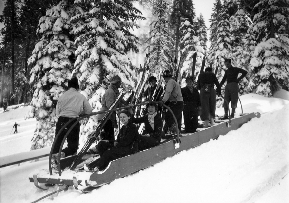 The Up-Ski was the first mechanical ski lift in the American west