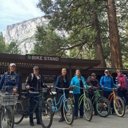 Yosemite Social Winter 2015 Bike to Hike Tour