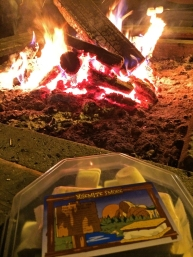 Yosemite Social Winter 2015 Ice Rink Fire Pit Smores