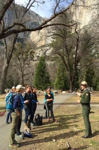 Yosemite Social Winter 2015 NPS Meet and Greet Cooks Meadow