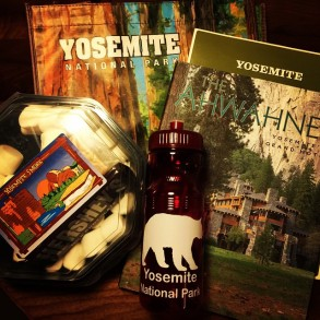 Yosemite Social Winter 2015 Welcome Gifts by Outdoorsy Mama