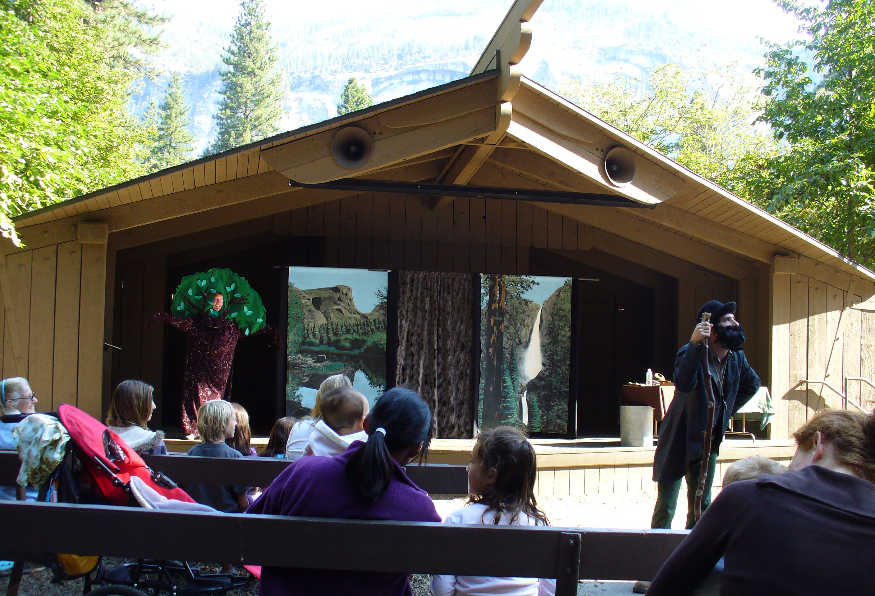 for private near cabin yosemite on patio of side rooms cozy your the rent cabins lilypad