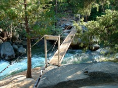 wawona swinging bridge