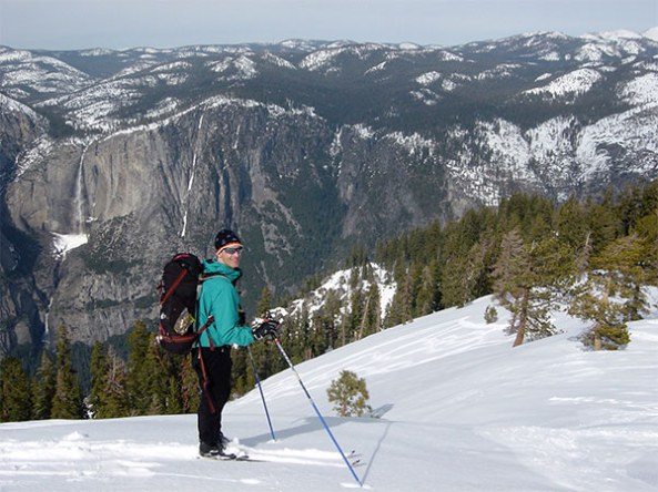 XC skiing at Sentinel Dome
