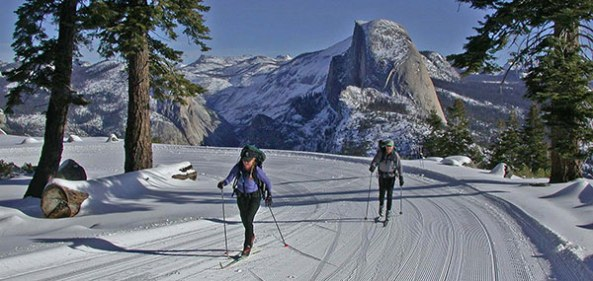 XC Skiing in Yosemite